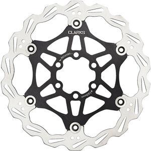 Clarks Lightweight Disc-Rotor 6-Loch black black