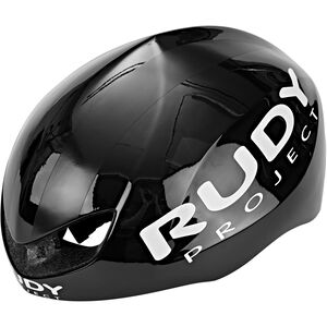 Rudy Project Boost Pro Helmet black shiny-white matte black shiny-white matte