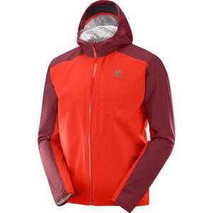 Salomon Bonatti WP Jacket Men fiery red/biking red