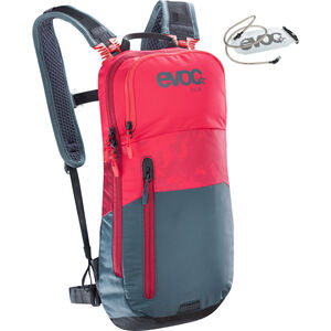 EVOC CC Lite Performance Backpack 6l + Bladder 2l red-slate red-slate