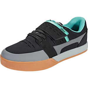 Afton Shoes Vectal Clipless Schuhe Herren black/turquoise black/turquoise