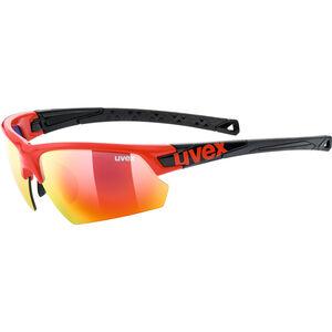 UVEX Sportstyle 224 Sportglasses red black/mirror red red black/mirror red