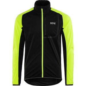 GORE WEAR C3 Gore Windstopper Jacket Herren black/neon yellow black/neon yellow