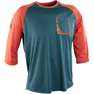 Race Face Stage 3/4 Sleeve Jersey Men Dark Spruce