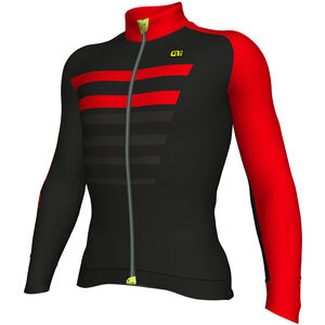 Alé Cycling Piuma LS Jersey Men Black-Red bei fahrrad.de Online