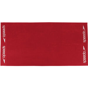 speedo Leisure Towel 100x180cm red red