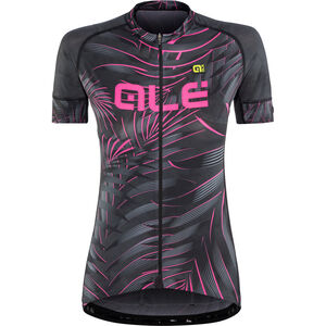 Alé Cycling Graphics PRR Sunset SS Jersey Damen black flou pink black flou pink