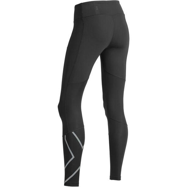 2XU Run Mid Rise Compression Tights Damen black/silver reflective
