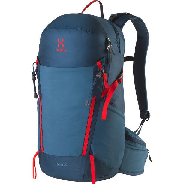 Haglöfs Spira 25 Backpack blue ink/pop red