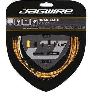 Jagwire Road Elite Link Schaltzugset gold gold