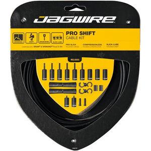 Jagwire 2X Pro Shift Schaltzugset schwarz schwarz