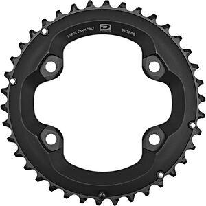 Shimano Deore FC-M6000-2 Kettenblatt 10-fach BG schwarz schwarz