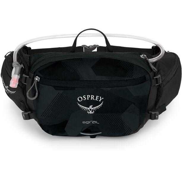 Osprey Seral Hydration Hüfttasche 7l obsidian black