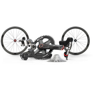 Rotor 1x13 Gruppen-Set mit 2INPower Kurbel und C45 Carbon SL Laufradsatz black black