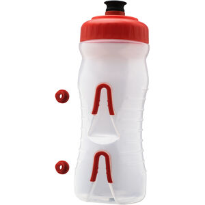 Fabric Cageless Bottle 600ml red red