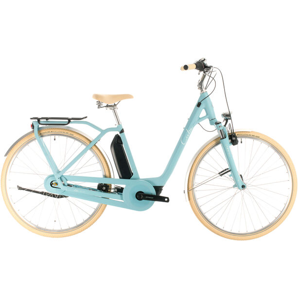 Cube Ella Cruise Hybrid 400 Easy Entry blue/blue