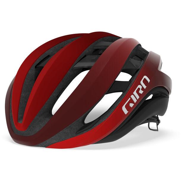 Giro Aether MIPS Helmet mat bright red/dark red/black