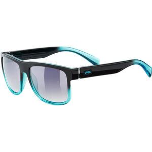 UVEX LGL 21 Glasses black turquoise/ltm.smoke bei fahrrad.de Online