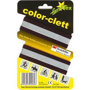 fasi Hosen-Reflexband Paar schwarz schwarz