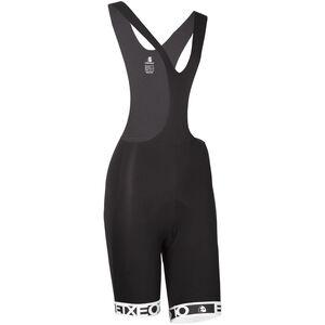 Etxeondo Olaia Bib Shorts Damen black-white black-white