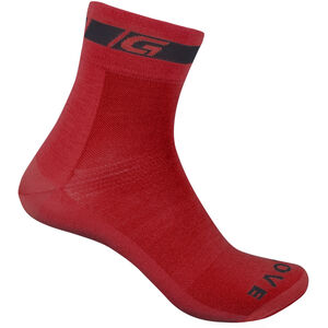 GripGrab Classic Regular Cut Socks red red