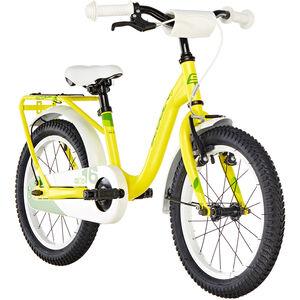 s'cool niXe 16 steel Yellow/Green bei fahrrad.de Online