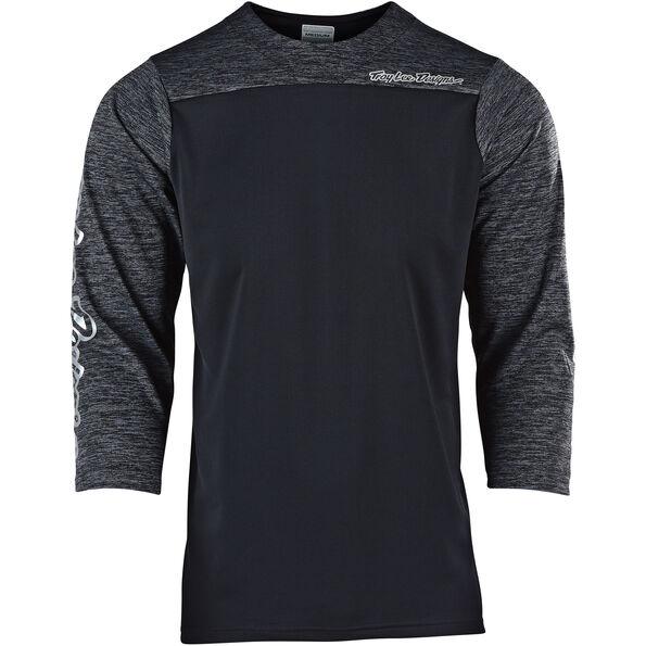 Troy Lee Designs Ruckus 3/4 Jersey Herren block/black/heather black