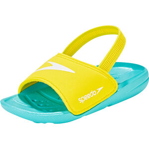 speedo Atami Sea Squad Slides Kinder bali blue/empire yellow bali blue/empire yellow