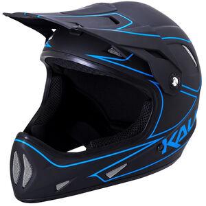 Kali Alpine Helm Herren matt schwarz/blau matt schwarz/blau