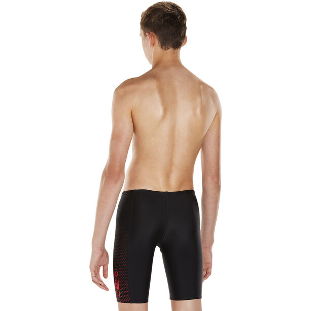 speedo Gala Logo Panel Jammers Jungs black/risk red