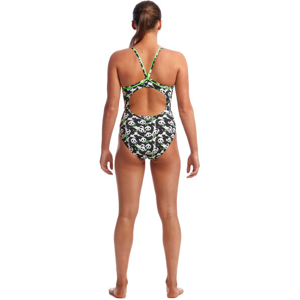 Funkita Eco Diamond Back Badeanzug Damen pandaddy