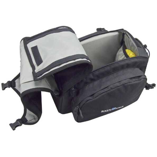 KlickFix Rackpack 1 Gepäckträgertasche schwarz