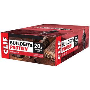 CLIF Bar Builder's Protein Bar Box Chocolate 12 x 68g
