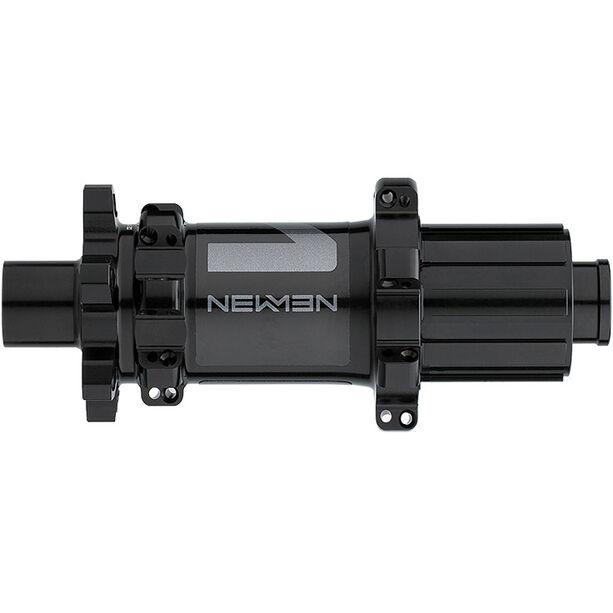 NEWMEN MTB Hinterradnabe 12x142mm 6-Bolt Shimano Gen2 black anodized/grey