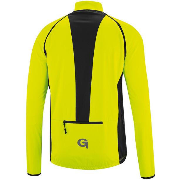 Gonso Deron Softshell Zip-Off Jacke Herren safety yellow