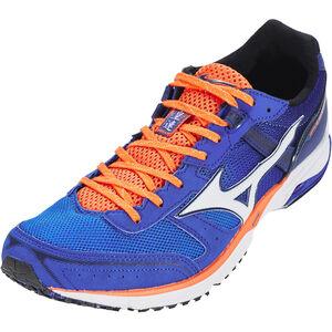 Mizuno Wave Emperor 3 Shoes Herren blue atoll/white/nasturtium blue atoll/white/nasturtium