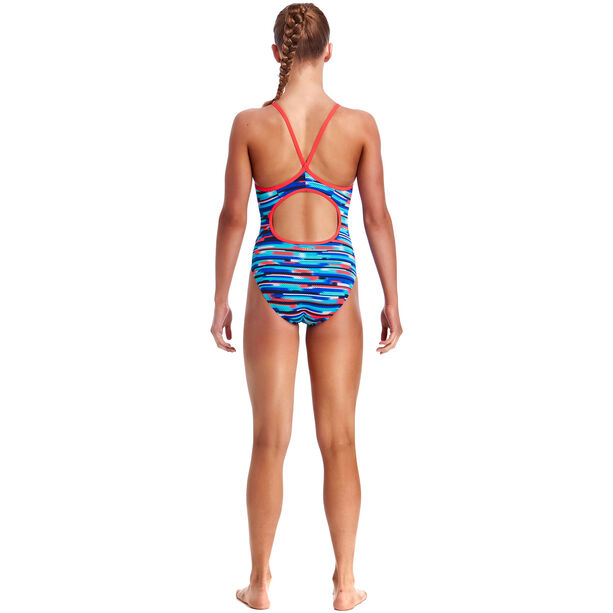 Funkita Diamond Back One Piece Swimsuit Mädchen meshed up