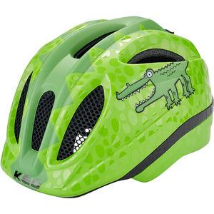 KED Meggy Trend Helmet Kinder green croco green croco