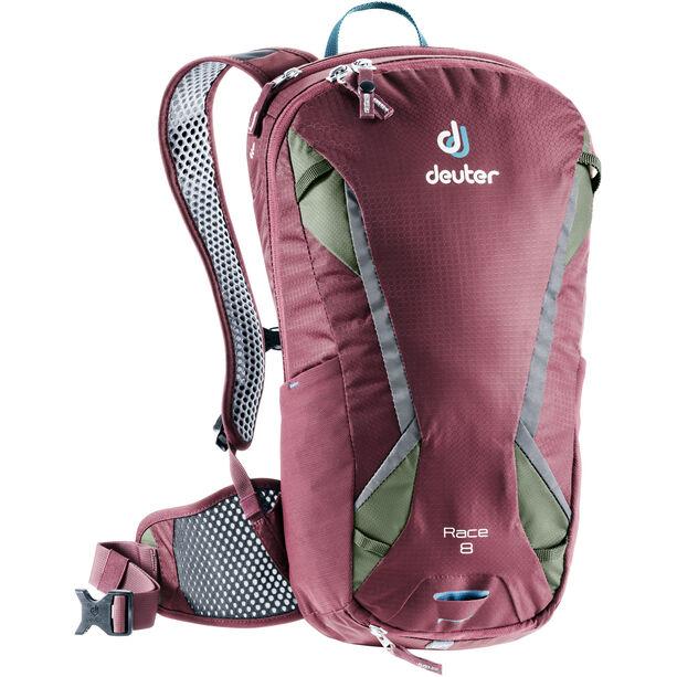 Deuter Race Backpack 8l maron/khaki