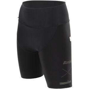 Santini Audax Aero Triathlon Shorts Damen black black