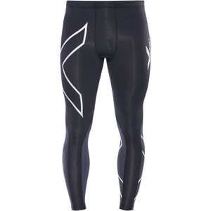 2XU Elite Compression Tights Men black/steel bei fahrrad.de Online