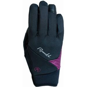 Roeckl Wolga Handschuhe Damen black/berry black/berry