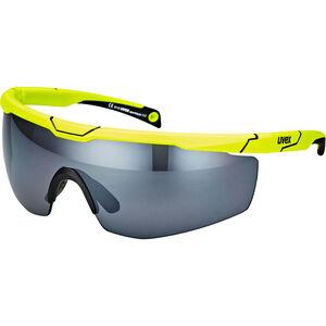 UVEX Sportstyle 117 Sportglasses yellow/silver yellow/silver