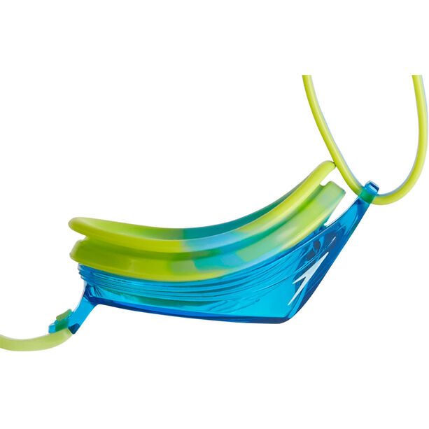 speedo Vengeance Goggles Kinder lime punch/japan blue