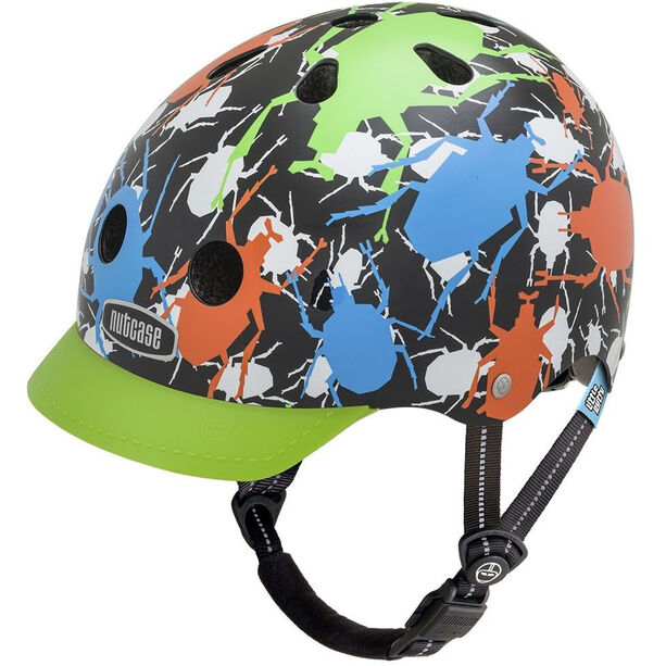 Nutcase Little Nutty Street Helmet Kinder buggy