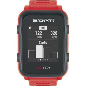 SIGMA SPORT iD.TRI Basic Multi-Sport Watch neon red neon red