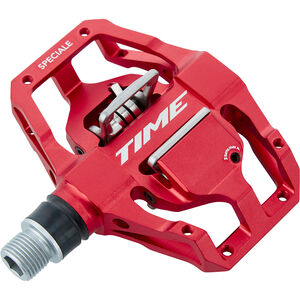 Time Speciale MTB Pedals red red