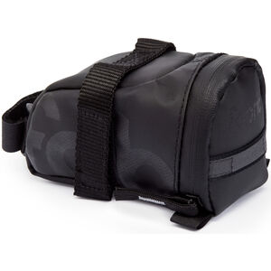 Fabric Contain Saddle Bag S black black