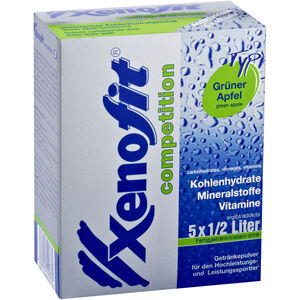 Xenofit Competition Carbohydrate Drink 5x42g Grüner Apfel