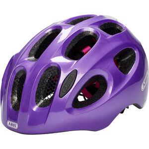 ABUS Youn-I Helmet Kinder sparkling purple sparkling purple